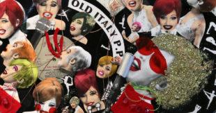 Obituary Collage, Annabeth Tao