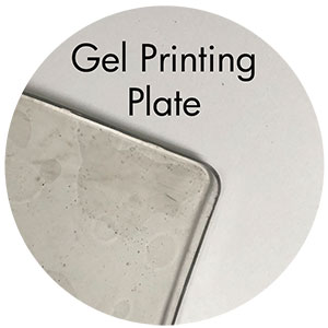 Art Supplies: Gel Printing Plate