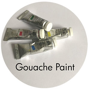 Art Supplies: Gouache Paint