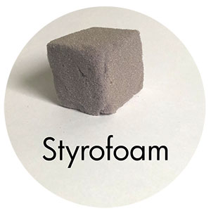 Art Supplies: Styrofoam