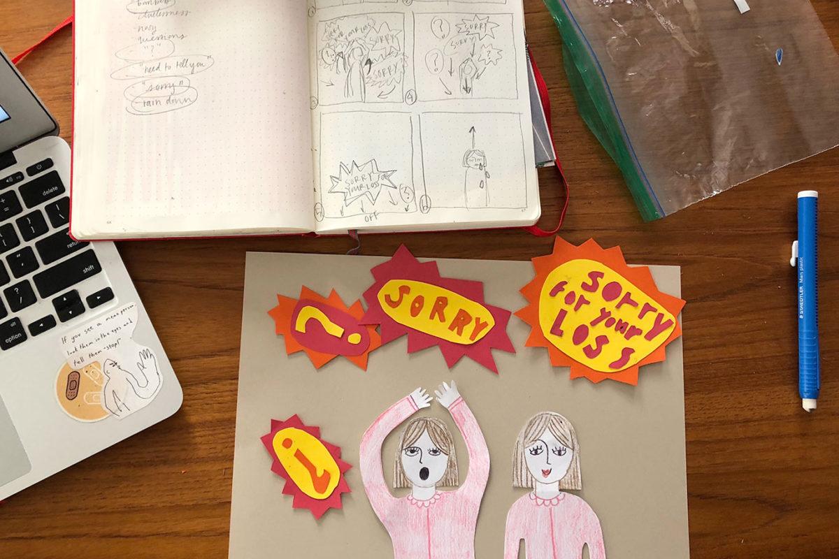 Editorial Animated GIF, Cindy Qiao