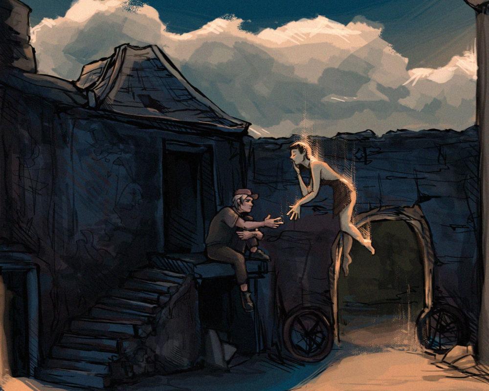 Digital Illustration, Amelia Rozear