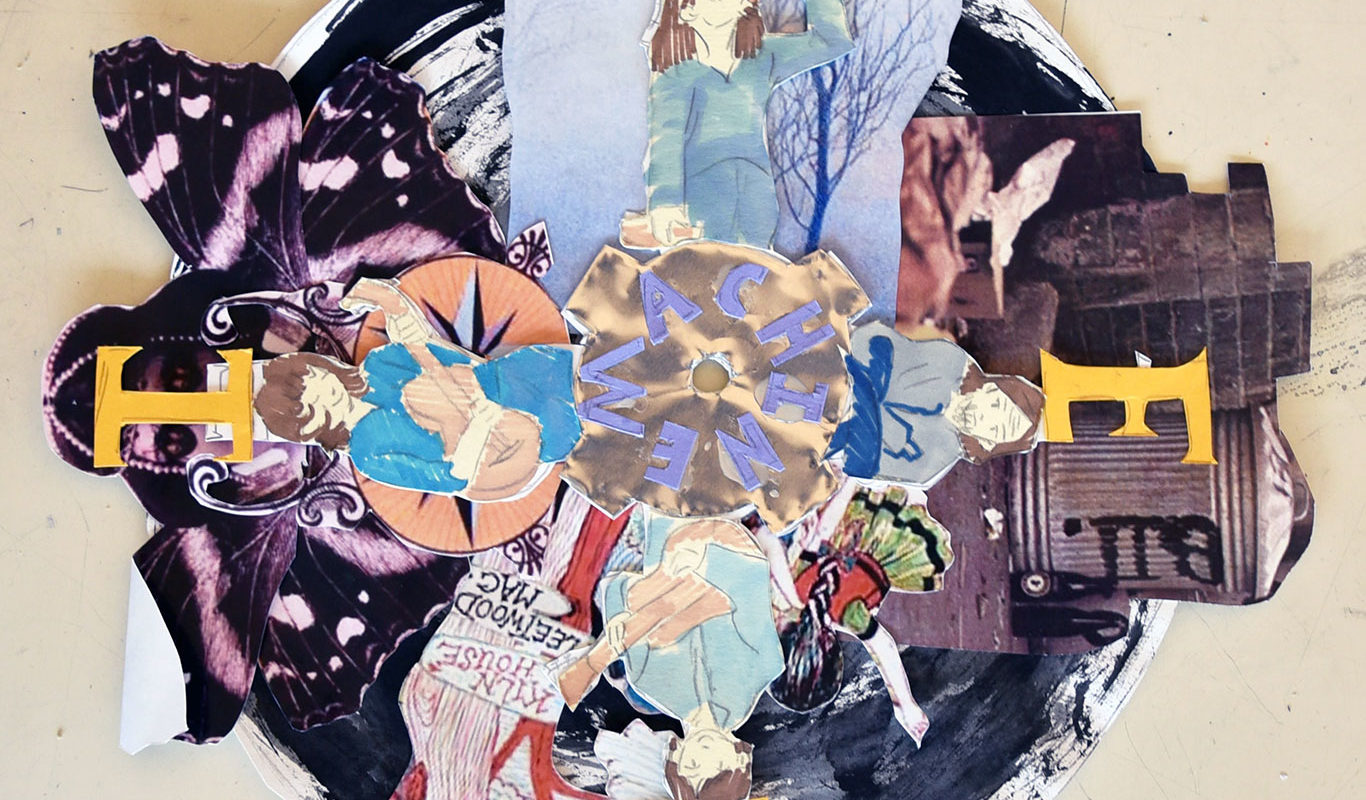Collage Sketch, Ashley Simpson