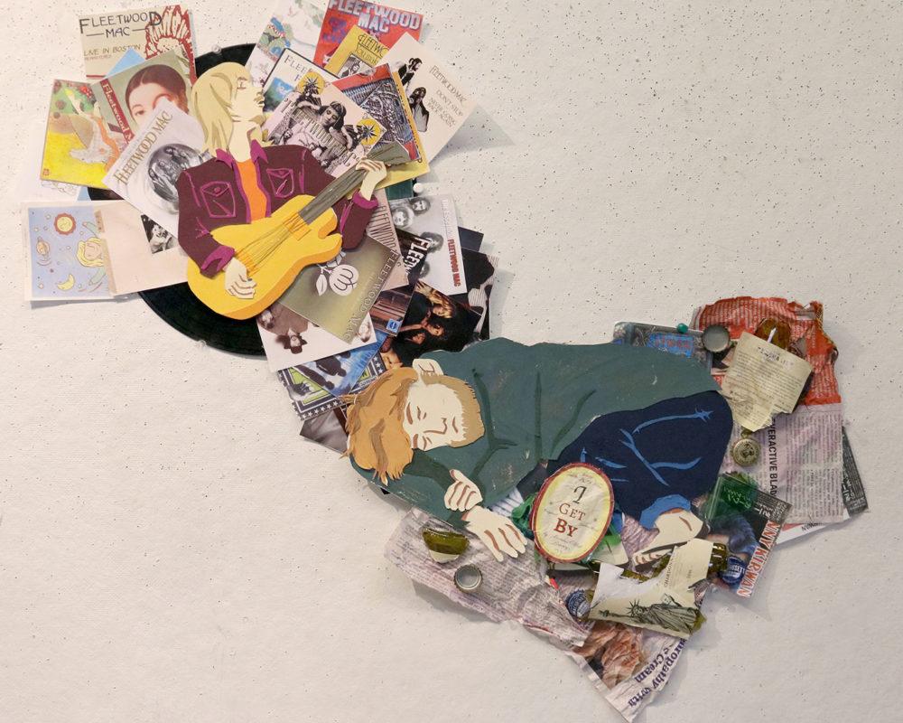 Mixed Media Collage, Ashley Simpson