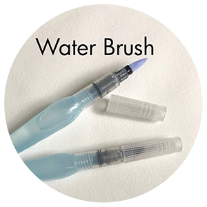Art Supplies: Pentel Water Brush