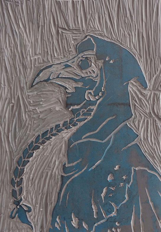 Linoleum Block, Victoria Lin