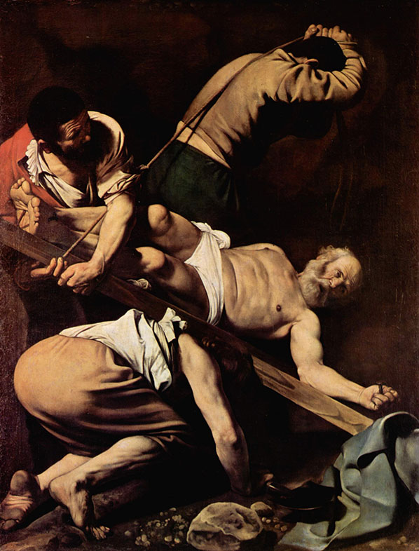 Crucifixtion of St. Peter, Carvaggio