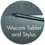 Wacom Tablet & Stylus