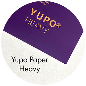 Art Supplies: Yupo Paper, Heavy