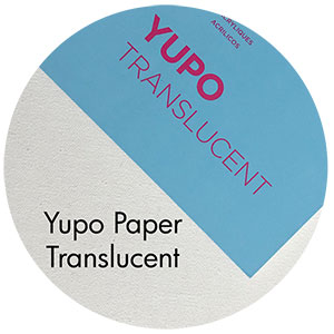Art Supplies: Yupo Paper, Translucent
