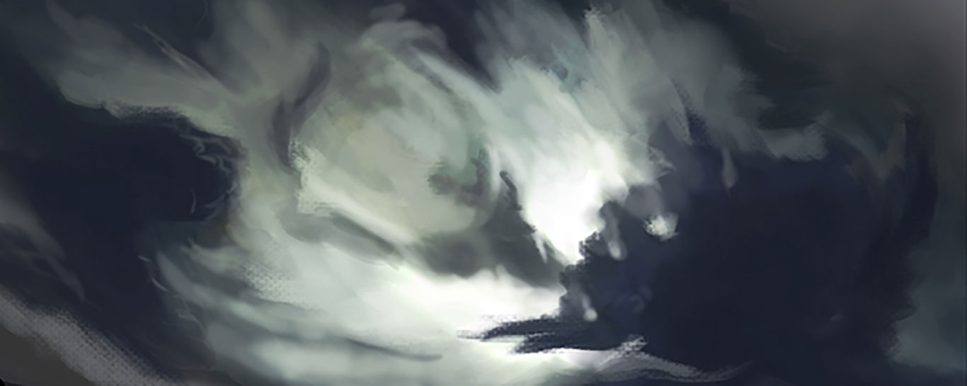 Digital Sky Painting, Jordan McCracken-Foster