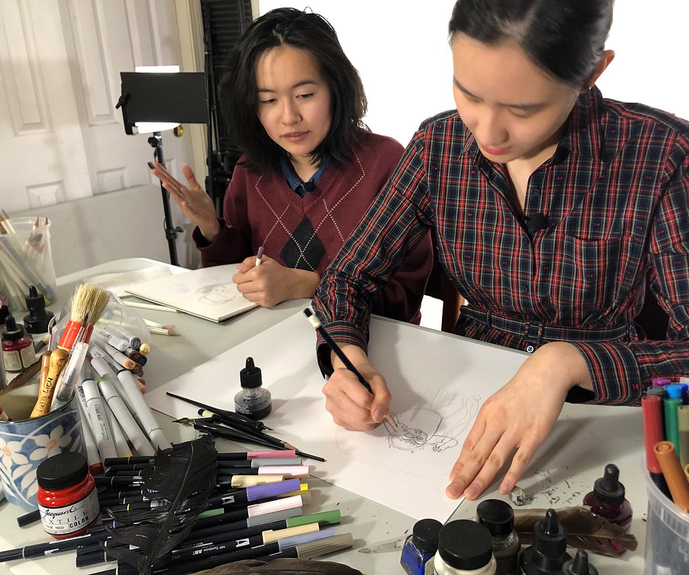 Character Design Tutorial, Cat Huang & Julie Benbassat