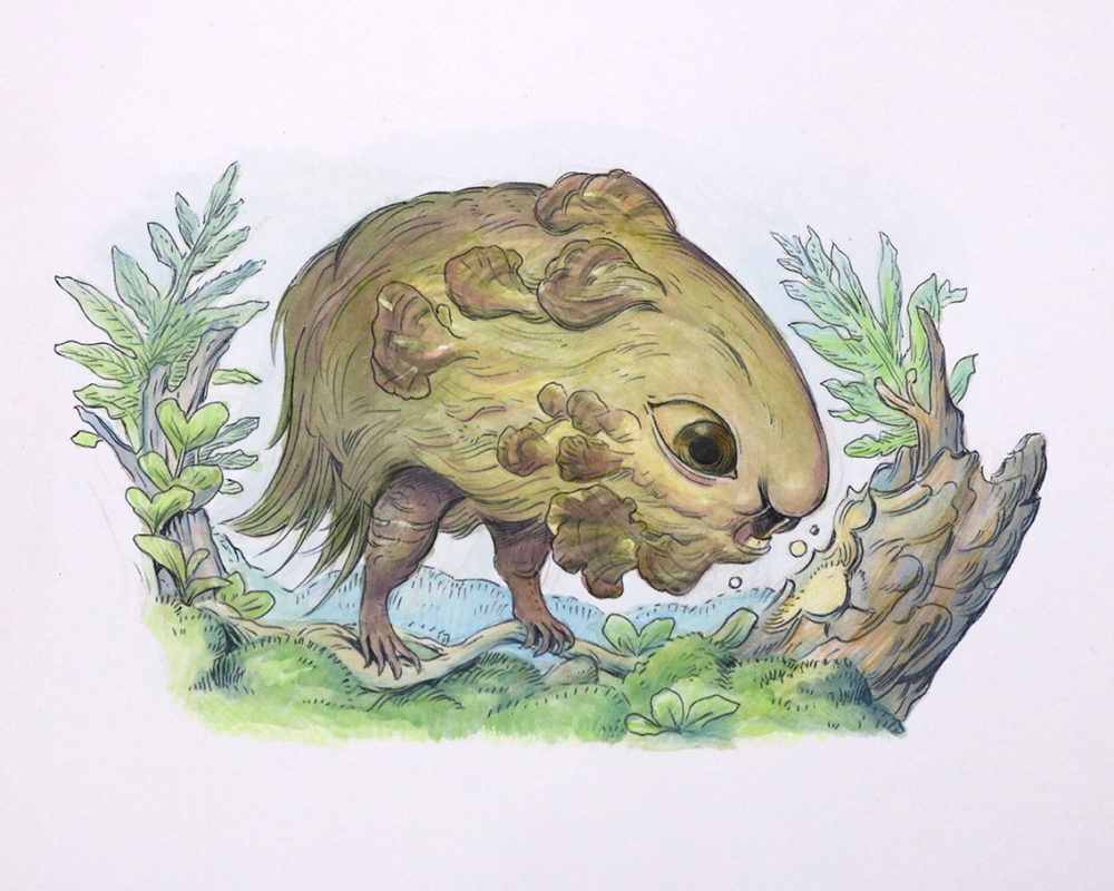 Creature Design Illustration, Julie Benbassat