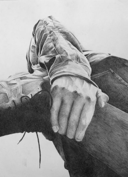 Graphite Drawing, Ethan Matthews