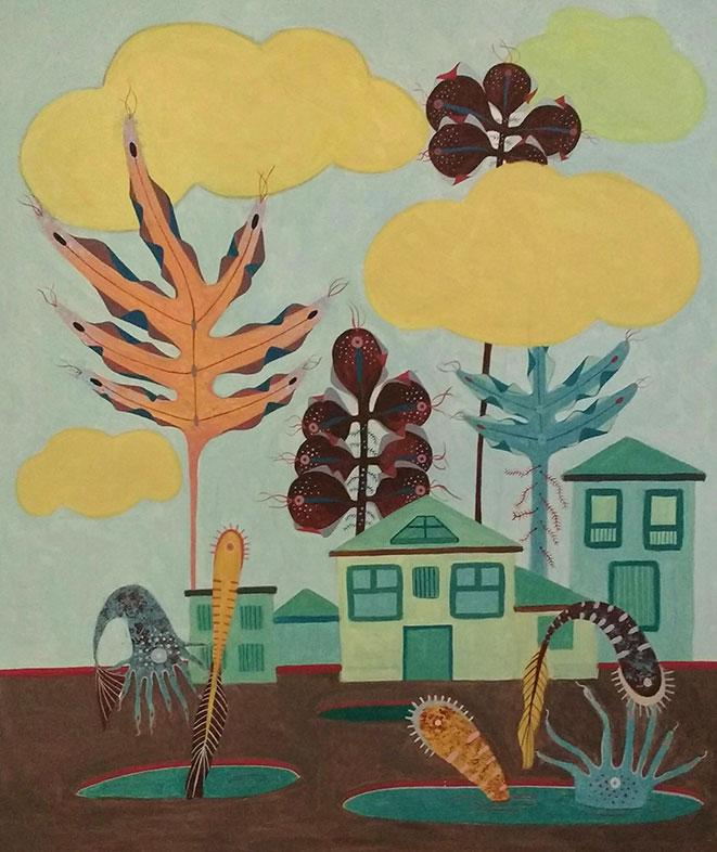 Acrylic Painting, Utpreksha Chipkar