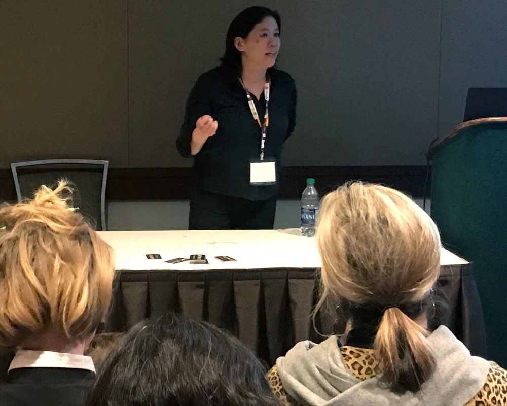Lecture by RISD Adjunct Professor Clara Lieu, 2018 NAEA Conference, Seattle, WA