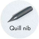 Art Supplies: Quill Nib