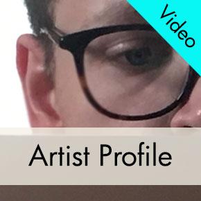 Jeff Katz, Art School Student