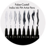 Art Supplies: Faber-Castell Artist Pitt Pens, Black