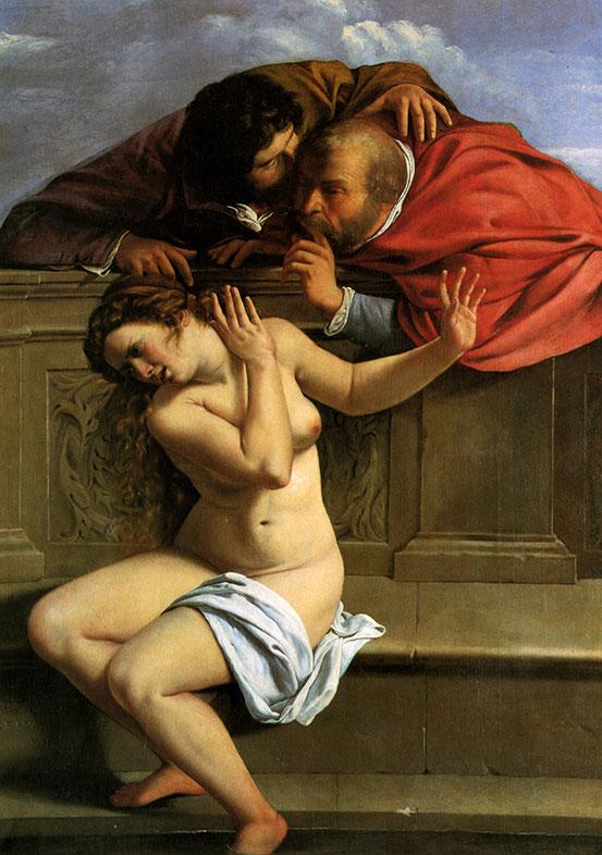 Artemisia Gentileschi, Susanna and the Elders, 1610
