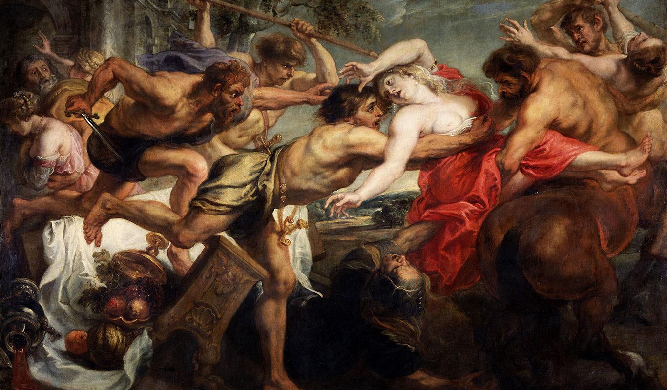 Peter Paul Rubens, The Rape of Hippodame, 1636