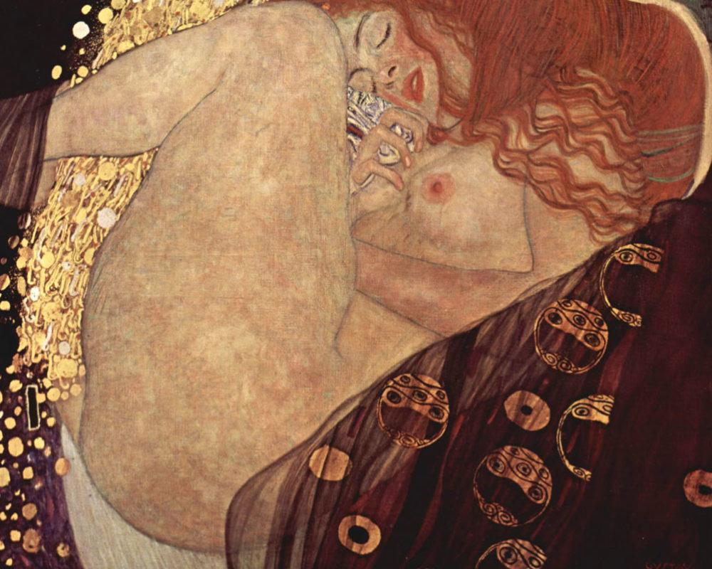 Gustav Klimt, Danae, 1907