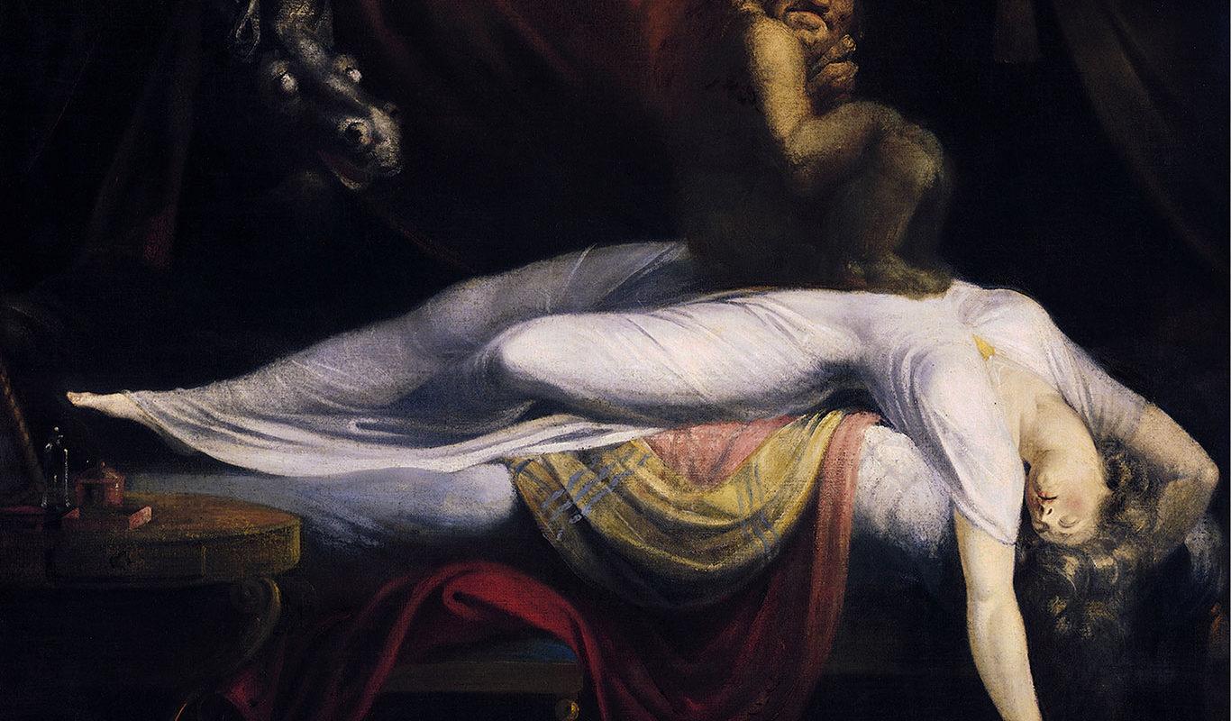 John Henry Fuseli, The Nightmare, 1791enry-Fuseli, The Nightmare, 1791