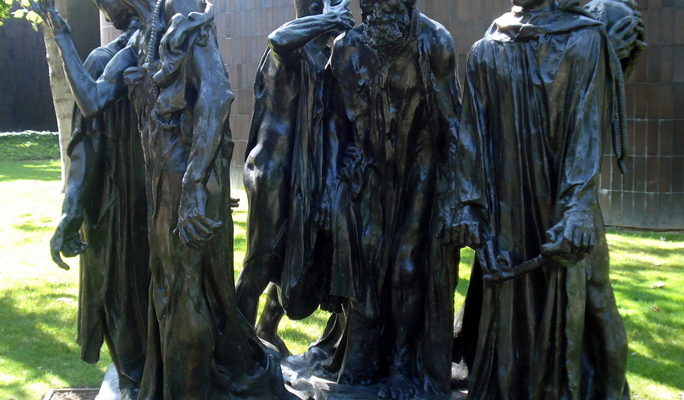Auguste Rodin, The Burghers of Calais,1884