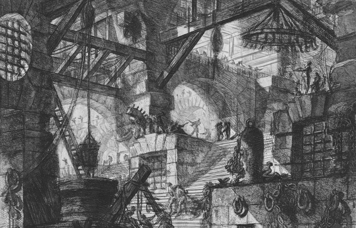 Giovanni Battista Piranesi, The Prisons, 1745
