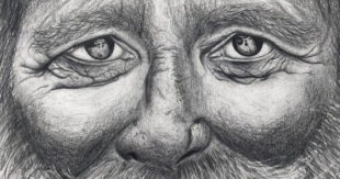 Portrait Drawing in Pencil, Oliver Rauch