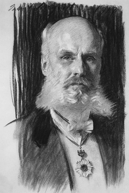 John Singer Sargent, Portrait of Dr. William Sturgis Bigelow, 1917