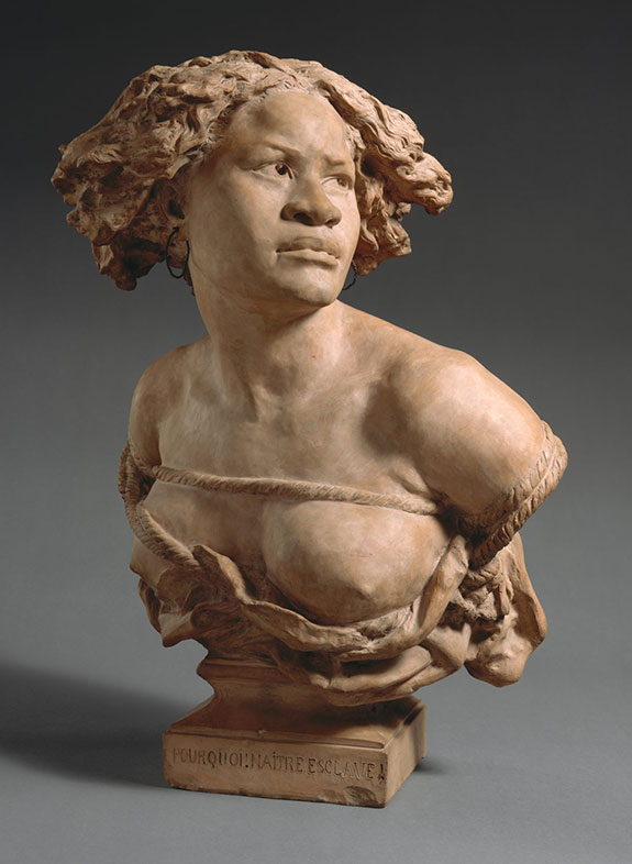 Jean-Baptiste Carpeaux, Why born a slave!, 1872