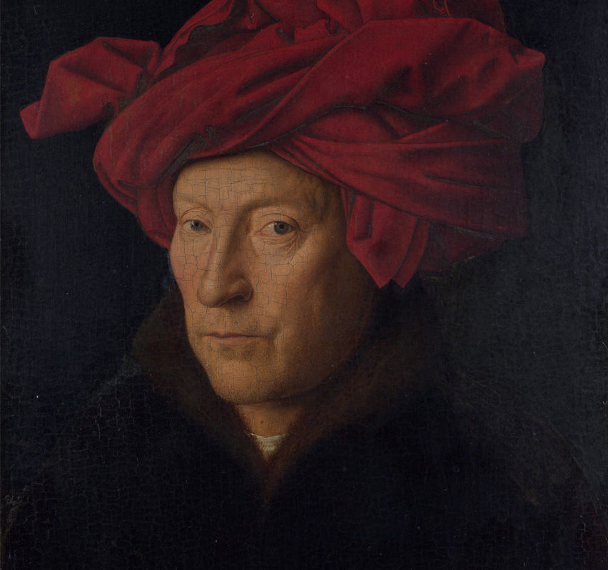 Jan Van Eyck, Portrait of a Man, 1433