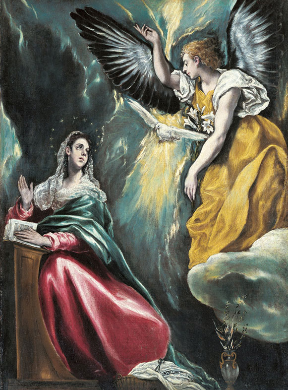 El Greco, The Annunciation, 1590