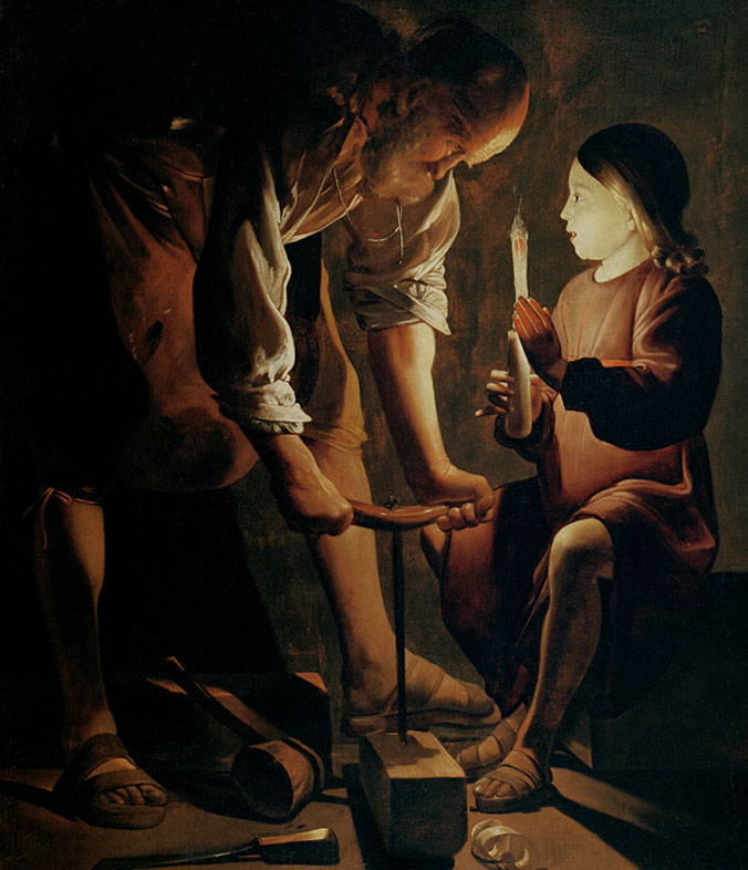 Georges de la Tour, Joseph the Carpenter, 1642