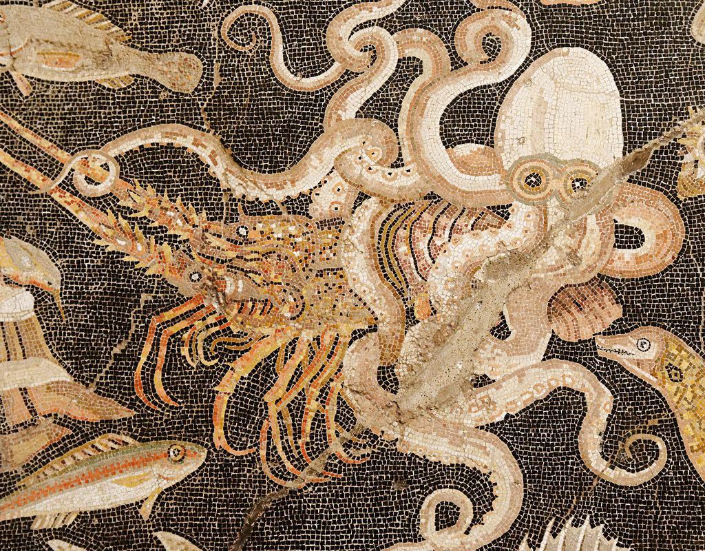 Roman Mosaic, Pompeii, Italy