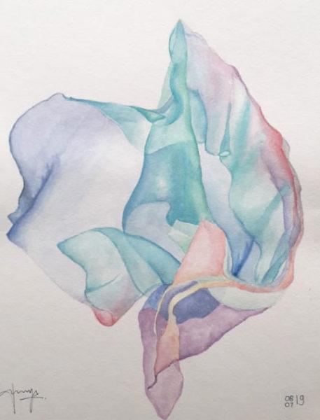 Watercolor Painting, Fanny Puspita
