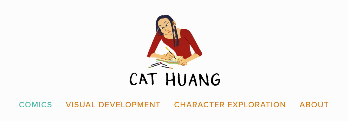 Cat Huang Illustration