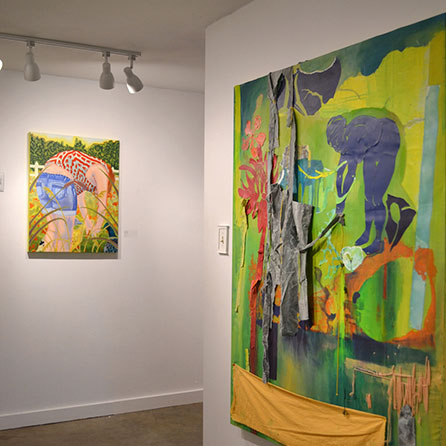Painting Exhibition, Lauryn Welch
