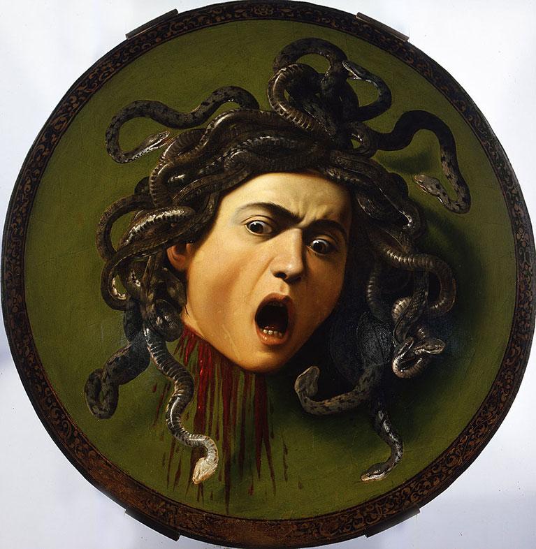 Caravaggio, Medusa,1597