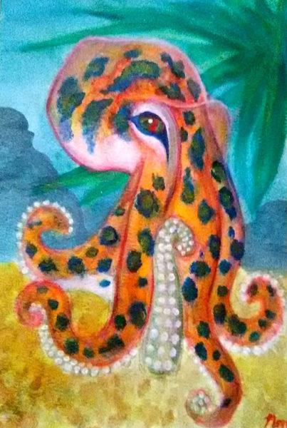 Acrylic Painting, Nina Musiyenko