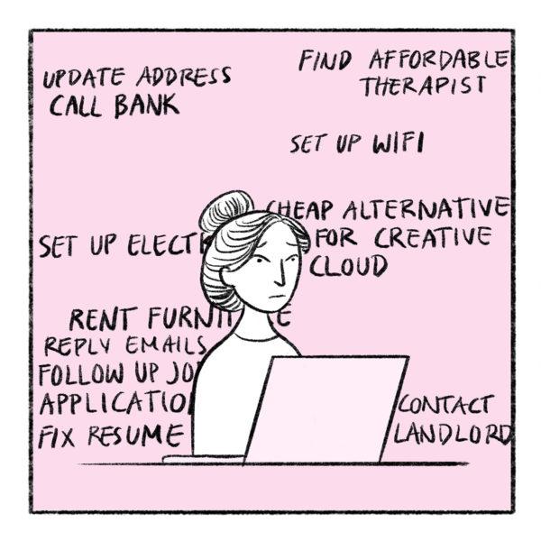 Job Hunting, Clar Angkasa