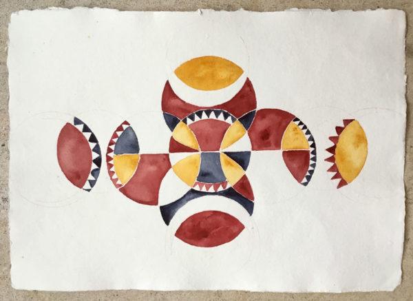 Watercolor Painting, Marina Marinopoulos