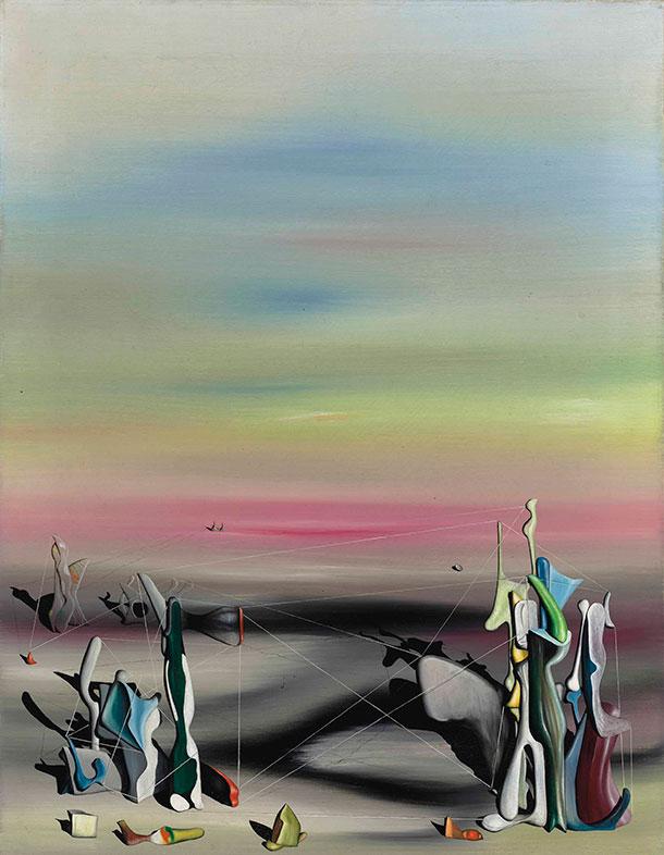 Yves Tanguy, La lumière, la solitude, 1940