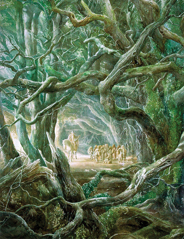 Alan Lee, Lord of the Rings Illustration