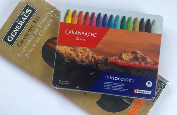 Caran d'Ache Crayons, General Charcoal Pack