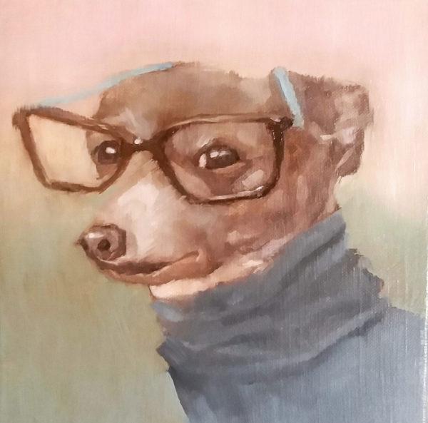 Dog Painting, Zoe Reznor