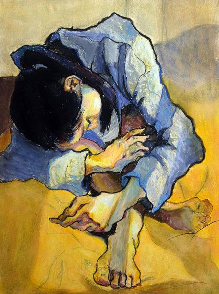 Figure Drawing, Hyelim (Rose) Lee