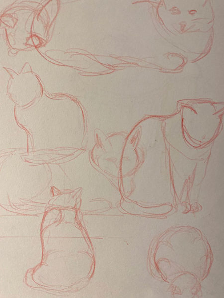 Gesture Drawing, Haley Gibbs