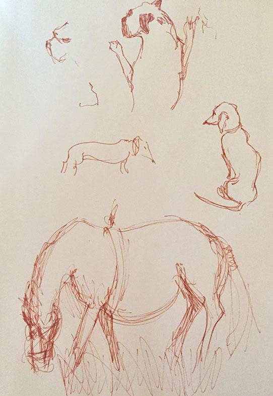 Gesture Drawing, Marina Marinopoulos